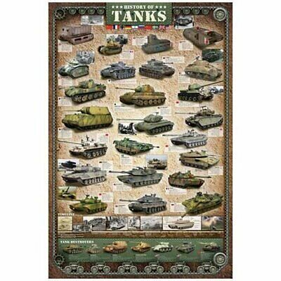 £11.99 • Buy Eurographics Puzzles History Of Tanks Jigsaw Puzzle