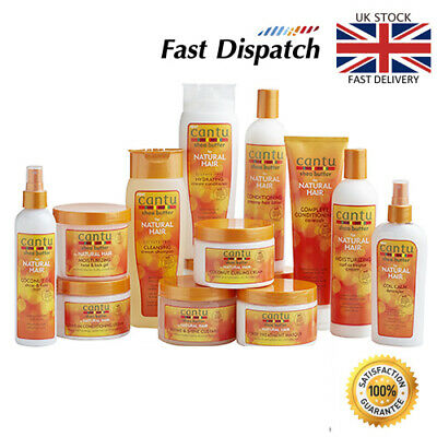 £6.99 • Buy CANTU SHEA BUTTER & NATURAL HAIR CARE AFRO HAIR Complete Product Range UK Stock
