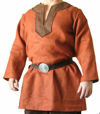 Viking Light Brown Theater Costume For Armor Reenactment Theater Clothing • 39.33£