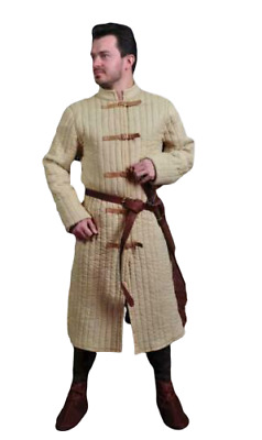 Clothing MEDIEVAL Camel Gambeson Reenactment Nice Costumes Best Very Movie Drama • 58.73£