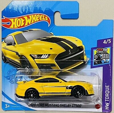 AU5.88 • Buy Hot Wheels 2020 Ford Mustang Shelby GT500 Yellow 2021 F Box New Release
