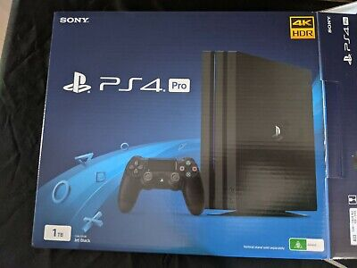 AU273 • Buy Sony PlayStation 4 Pro 1TB SSD Console PS4 Black - Excellent Condition
