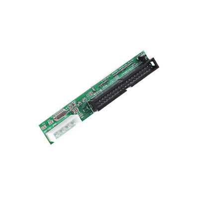SATA Ssd Hdd Female Hard Drive To Ide 3.5  40 Pin Male Converter Card Adapter F2 • 3.88£