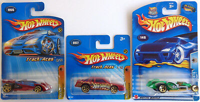 Hot Wheels Chevy Stocker Short Card Open Roadster I Candy Track Aces 2003, 2005 • 5£