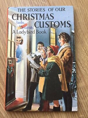 Vintage Ladybird Books The Stories Of Our Christmas Customs.  2'6 Series 644 • 7£