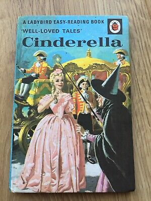 Vintage Ladybird Books Cinderella Well Loved Tales 606D Excellent Condition • 20£