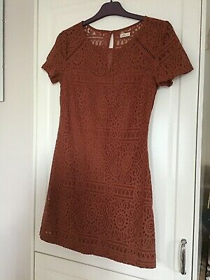 Hollister Dress. Light Brown Lace. Side Zip. Size XS.  • 3£