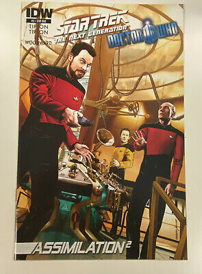 Idw: Star Trek: Tng / Doctor Who: Assimilation #2: Issue #2: Nm Cond: Ri-b Cover • 7.23£
