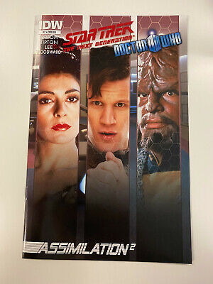 Idw: Star Trek: Tng / Doctor Who: Assimilation #2: Nm Condition: Ri-a Cover     • 6.51£