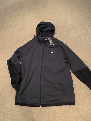 $ CDN17.68 • Buy Mens UNDER ARMOUR Zip Up Hoodie.  Size XXL. Brand New With Tag