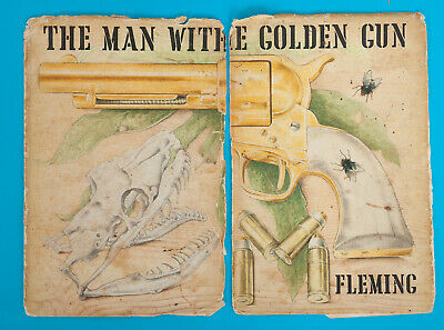 The Man With The Golden Gun Ian Fleming 1965 First Edition With Dust Jacket  • 20£