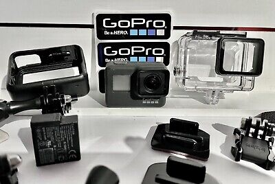 $ CDN295.11 • Buy GoPro HERO7 - Black + Extra Battery, Camera Bag, SD Card And Misc Accessories.