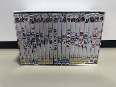 The Danielle Steel Collection - 19 DVD CD Film Set Like New • 44.36£