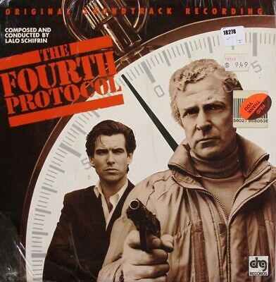 LALO SCHIFRIN LP, The Fourth Protocol Ost (DRG US Issue) • 12£