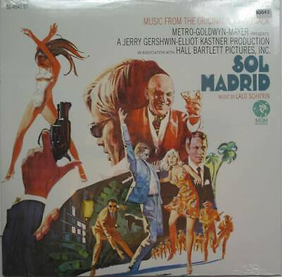 LALO SCHIFRIN LP , Sol Madrid (MGM US Reissue) • 15.60£