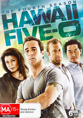AU24 • Buy 153 New Sealed Hawaii Five 0 The Fourth Season DVD Region 4