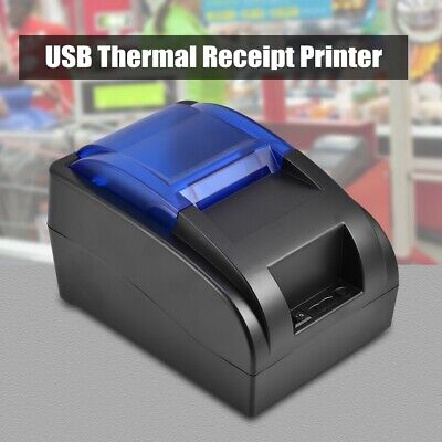 AU78.30 • Buy Thermal Printer USB Thermal Receipt Printer For Ordinary Receipt Printing