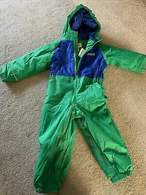 Regatta Splash Puddle Snow Suit Lined All In One 2-3 Years • 9.99£