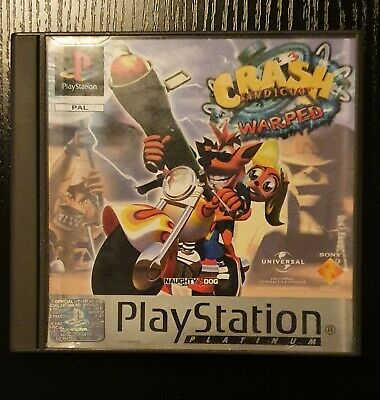 Crash Bandicoot 3 Warped Complete PS1with Manual  • 3.40£