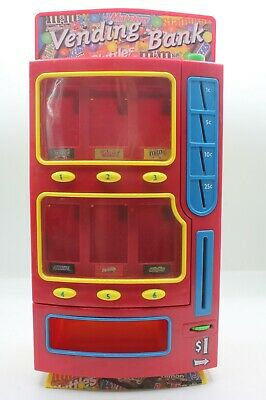 $53.99 • Buy Mars M&Ms Candy Vending Machine Bank 2004 Skittles Twix Snickers Milky Way Toy