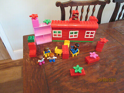 £27.99 • Buy Duplo Lego House Base Board Family Kid Playfigures Furniture Flower Construct Br