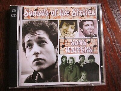 Sounds Of The Sixties-song Writers  36 Tracks On 2 X Cd's. 2004. Tlscc/27. • 1.25£