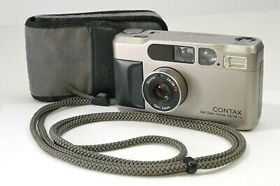 $ CDN758.33 • Buy *As-is In Case Strap* Contax T2D T2 D Point & Shoot Camera Sonnar 38mm F2.8 T*