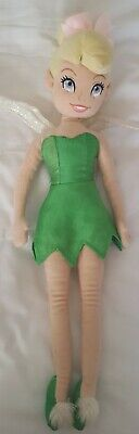 Disney Store Tinkerbell Soft Plush Cuddly Toy Doll • 1£