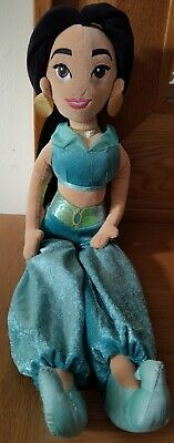 Disney Store Princess Jasmine Soft Plush Cuddly Toy Teddy Doll • 5£