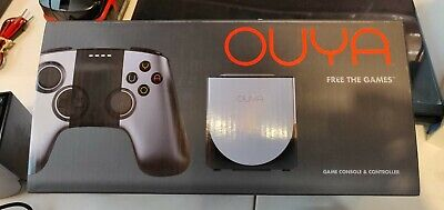 $17.50 • Buy OUYA Silver 8GB Console System With Box Sleeve And Two Controllers
