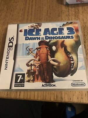 Ice Age 3 Dawn Of The Dinosaurs Ds Game With Manual  • 4.99£