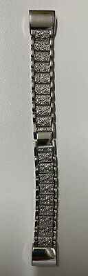 AU5 • Buy Diamond Looking Stainles Steel Strap Link Bracelet Watch Band For Fitbit Charge2