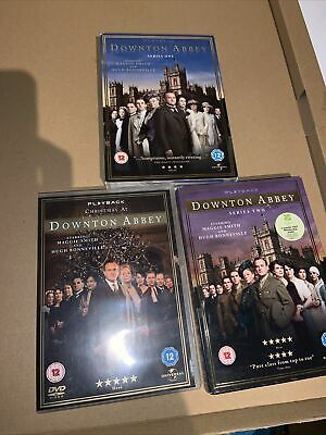 Downton Abbey - Series 1 & 2 And Christmas Special DVD Downtown • 9£