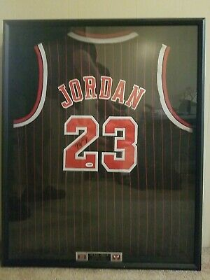 AU12916.56 • Buy Framed Autographed Michael Jordan Jersey #23 PSA/DNA Certified