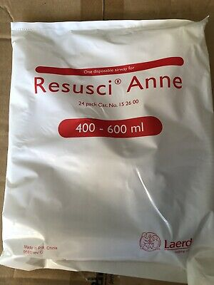 Box Of 24 Brand New And Sealed Laerdal Resusci Anne Disposable Airways / Lungs • 100£