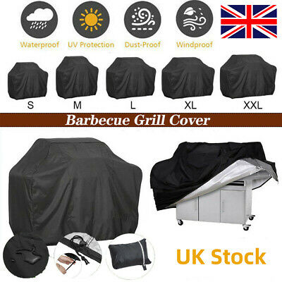 £9.91 • Buy XS-XXL BBQ Covers Heavy Duty Waterproof Patio Barbecue Smoker Grill Cover Garden