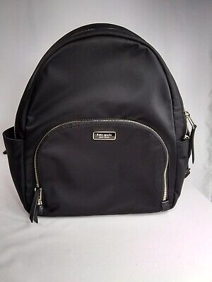 $ CDN176.76 • Buy Kate Spade Dawn Large Backpack Bag Black Nylon Pre-owned In Excellent Condition