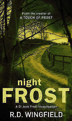 Night Frost By R D Wingfield, Mass Market Paperback Used Book, Good, FREE & FAST • 4.19£