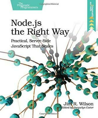 £3.03 • Buy Node.js The Right Way: Practical, Server-Side JavaScript That Scales, Very Good