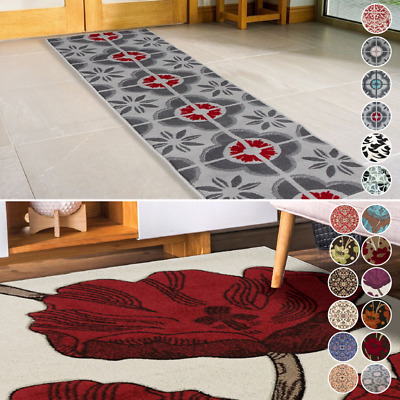 £27.95 • Buy Bravich Traditional Floral Flower Thick Area Rug Kitchen Mat Hall Runner Carpet