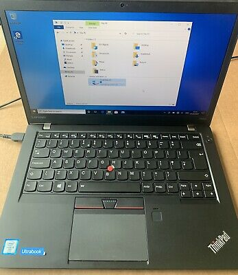 LENOVO THINKPAD T460s 14  Intel I5 CPU 8GB RAM 512GB SSD Win10Pro TOUCHSCREEN • 185£