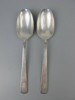 £9.99 • Buy 2 X Vintage Mappin & Webb Overture Serving Spoons. Princess Silver Plate. 8.25