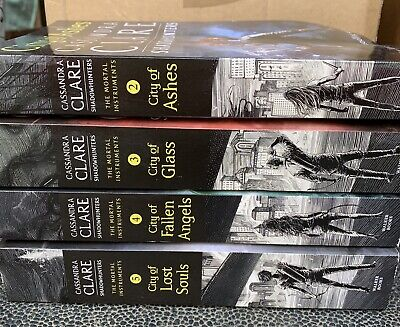 The Mortal Instruments Shadowhunters Book Set 2-5 By Cassandra Clare • 5.49£