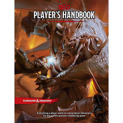AU59.50 • Buy D&D Player's Handbook - Hard Cover 5th Edition Book - Dungeons & Dragons