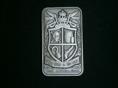 AU275 • Buy Gainesville .999 5 Oz Silver Bar.  What's Yours Is Now Mine.  ULTRA HIGH RELIEF