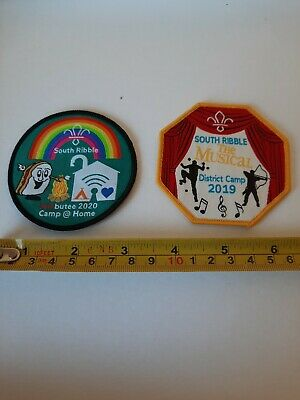 £2.20 • Buy 2 Beaver, Cub, Scout Discontinued Camp Badges