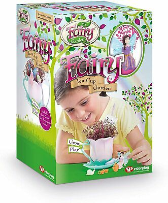 Garden FG209 Fairy Teacup Garden Toy Kitchen Playsets For Kids 3+ Years Old  • 11.99£
