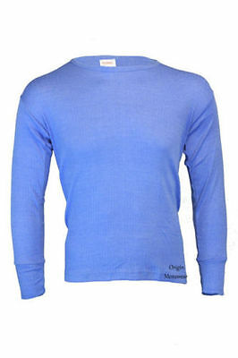 Mens Womens Thermal Warm Base Layer Long Sleeve Underwear Top • 4.99£