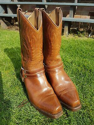 Sancho Spanish Leather Boots Mens Size 10 • 50£