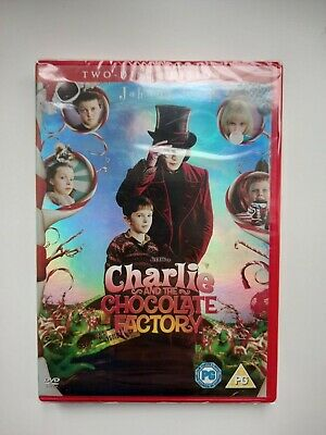 £3.45 • Buy Charlie And The Chocolate Factory Two Disc Dvd Rating Pg Sealed Family Kids Fun